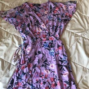 Lulus wrap dress like new